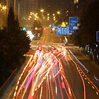Cars & Lights by yossi rabinovich