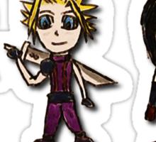 Final Fantasy Cartoons Sticker