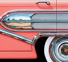 1958 Buick Chrome Bullet by davidkyte