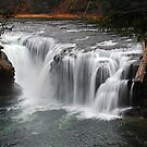 Lower Lewis River Falls by Jennifer Hulbert-Hortman