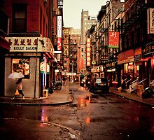 Rainy Afternoon - Chinatown - New York City by Vivienne Gucwa