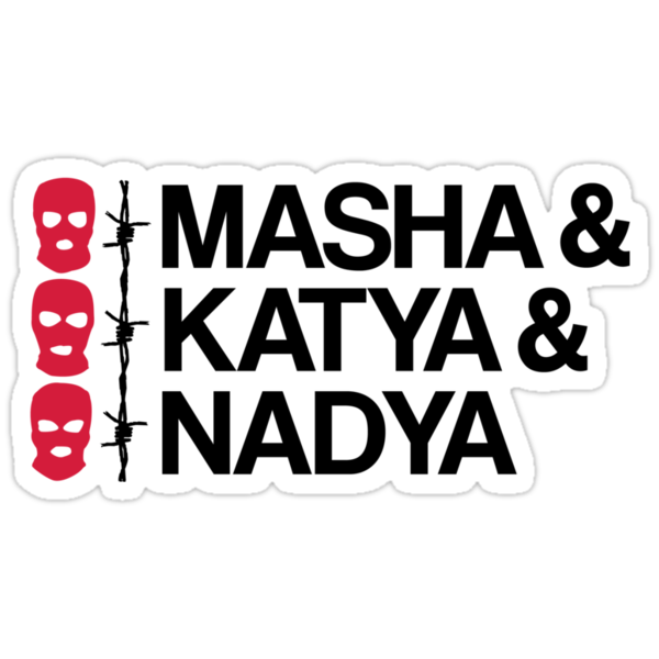 MASHA & KATYA & NADYA PUSSY RIOT by Cheesybee