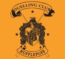 Hufflepuff Duelling Club - Black by Mouan