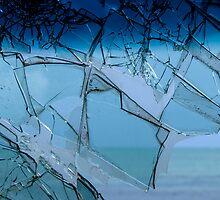 Broken glass. by Anne Scantlebury