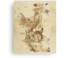 the golden key Canvas Print