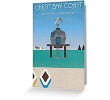 Majora's Mask - Great Bay Poster Greeting Card