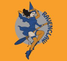 Ravenclaw Pin Up Witch by sentstarr