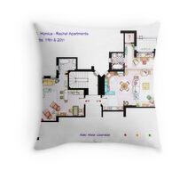 Friends Apartment Throw Pillow