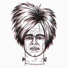 Warhol Frankenstein in 3D by Jacqueline Gwynne