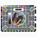 Test Card F T-Shirt by MapleGLaDOS