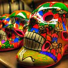 Day of the Dead Skulls by Ray Chiarello
