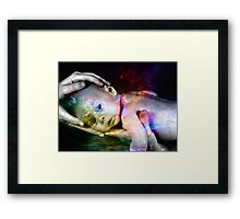 MIRACLE~HEAVEN TOUCHED EARTH Framed Print
