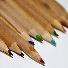 Red pencil & friends by Yannis-Tsif