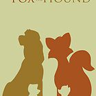 The fox and the hound by CitronVert