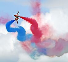 Break ! Red Arrows - Dunsfold 2012 by Colin J Williams Photography