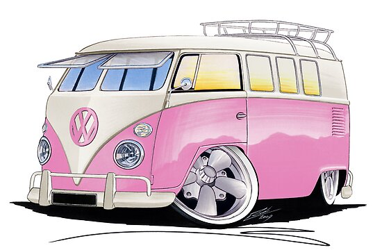VW Splitty (11 Window) G by Richard Yeomans