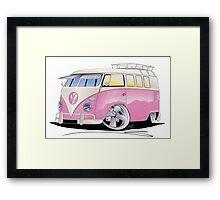 VW Splitty (11 Window) G Framed Print