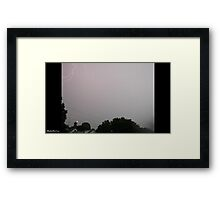 Lightning 2012 Collection 26 Framed Print