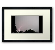 Lightning 2012 Collection 28 Framed Print