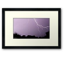 Lightning 2012 Collection 42 Framed Print