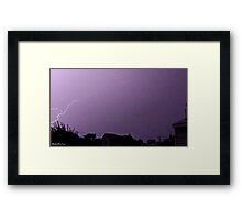 Lightning 2012 Collection 43 Framed Print