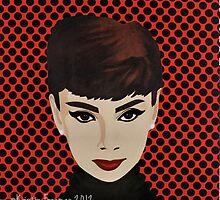 Audrey Hepburn by KristinFreeman
