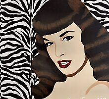 Betty Page by KristinFreeman
