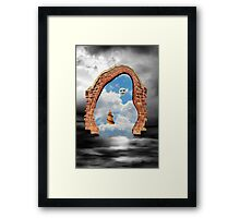 It's A Funny Old World Framed Print