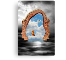 It's A Funny Old World Canvas Print