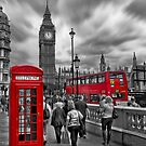 Busy London by John Dickson