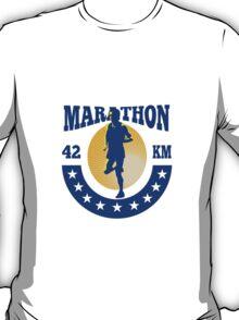 Marathon Runner Athlete Running T-Shirt