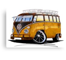 VW Splitty (23 Window) E Canvas Print