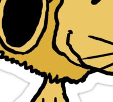 Snoopy Lion Sticker