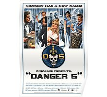 Danger 5 Official Poster Poster