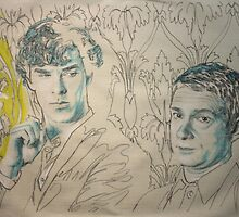 sherlock and john by Peter Brandt