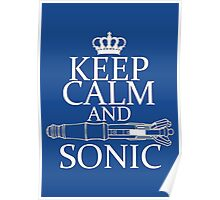Keep Calm and Sonic Poster