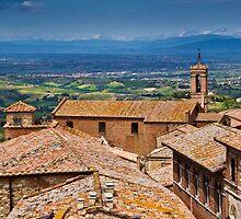 Montepulciano, Tuscany by vivsworld