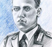 Arnaldo Filippi portrait-WWII Collection by Francesca Romana Brogani