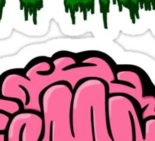 Psychologists love brains Sticker