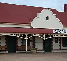 Quorn Railway Station by Geoffrey Grinton