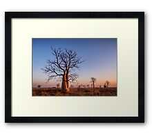 Just Another Derby Sunset Framed Print