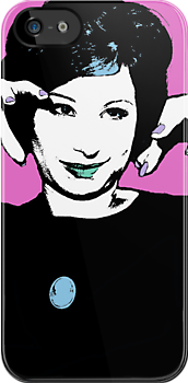 Barbara Streisand Culture Cloth Zinc Collection iPhone Case by CultureCloth