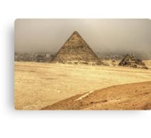 Menkaure's Pyramid Canvas Print