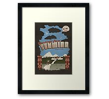 Greetings from Termina Framed Print