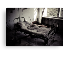 Bed #2 Canvas Print