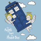 The Angels have the Phone Box - Version 1 by lemontee