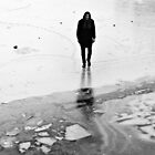 Man on ice by chelo