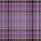Lavendar Plaid by HighDesign