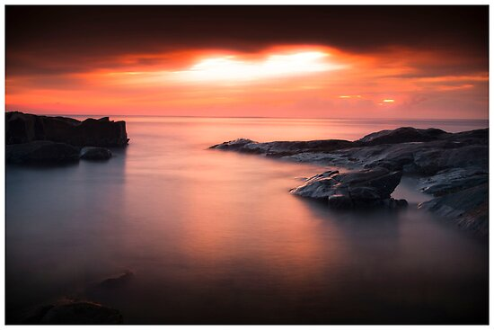 Bass Point Sunrise #2 by Kerrod Sulter