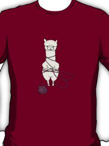 alpaca tied up T-Shirt